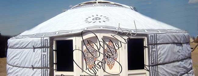 """Le nostre yurte """"ConiBianchi"""" in Fiera del Levante"""